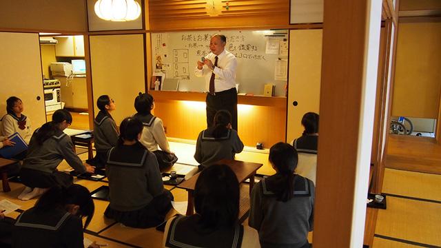 礼法の授業風景