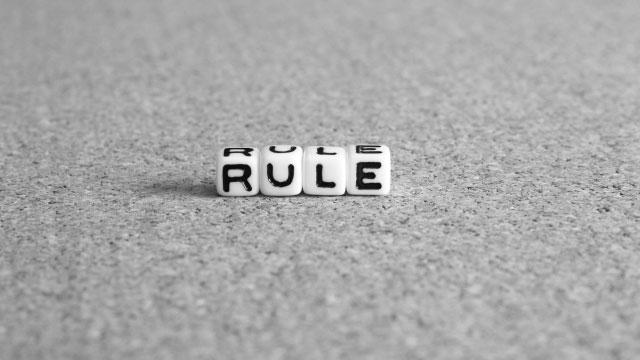 ルールという不自由のオリを脱する